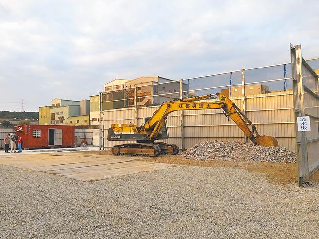新北市推動臨時棧場輔導計畫,共計有38家業者通過核定。(新北市環保局提供/葉德正新北傳真)