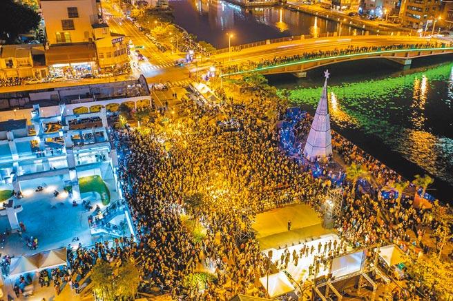 台南市今年下半年观光人次增加2倍,居六都第1。(台南市政府提供/曹婷婷台南传真)