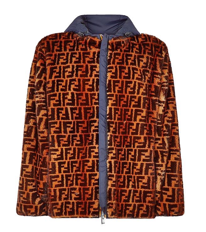 Fendi x K-Way外套,6萬6700元。(Fendi提供)