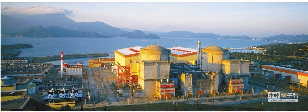 大亞灣核電站是大陸第一座百萬千瓦級大型商用核電廠。(圖/中新社,資料照片)