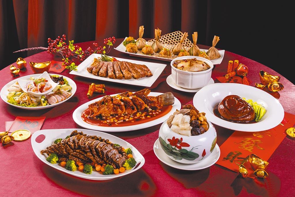 福容大飯店台北一館另推出年菜外帶組合,並祭出早鳥優惠價。(福容大飯店提供)