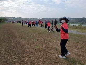 疫情取消進香 Google資料中心落腳的社區健走活動湧500人