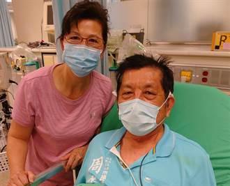 上月曾暈倒查不出原因  前台南議長周五六再次暈倒住院檢查