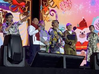 新北耶誕城巨星演唱會 侯友宜現身點燈