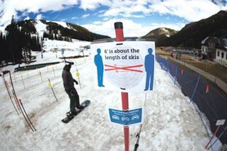 耶誕假期不能滑雪