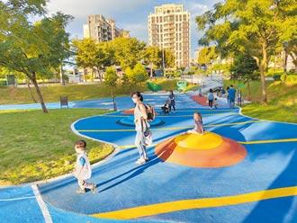 公園好好玩 來林口星際遨遊