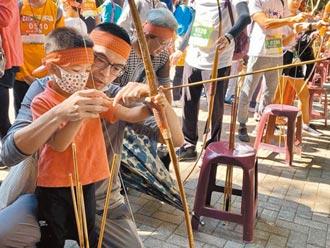 山城文化祭 走鏢編織趣味十足