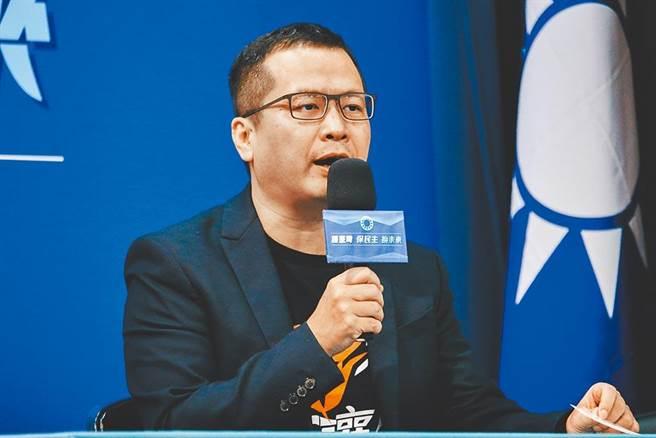 台北市議員、國民黨革實院長羅智強。(資料照/郭吉銓攝)