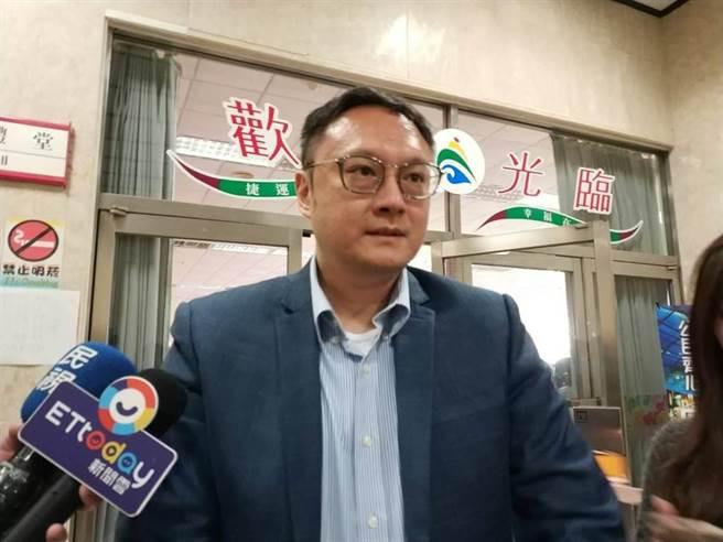 國民黨文傳會副主委鄭照新。(資料照/曹明正攝)