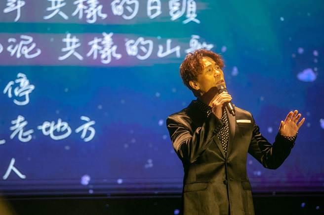 羅時豐為客家音樂節獻唱。(典選音樂提供)