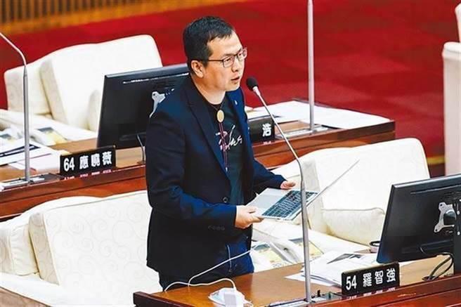 國民黨台北市議員羅智強。(本報資料照片)