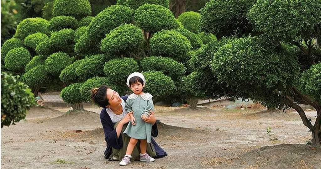 走進張森藝的私人庭院,由七里香修剪成的卡通波波樹意外暴紅,令人少女心大噴發。(圖/于魯光攝)