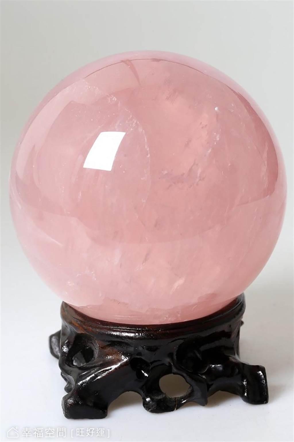 粉水晶。(圖片來源/旺好運)