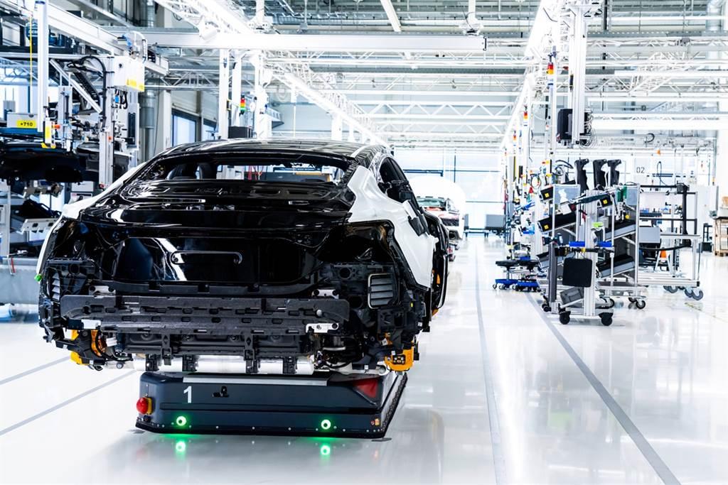 Audi e-tron GT開始進入量產 完全來自碳中和生產過程