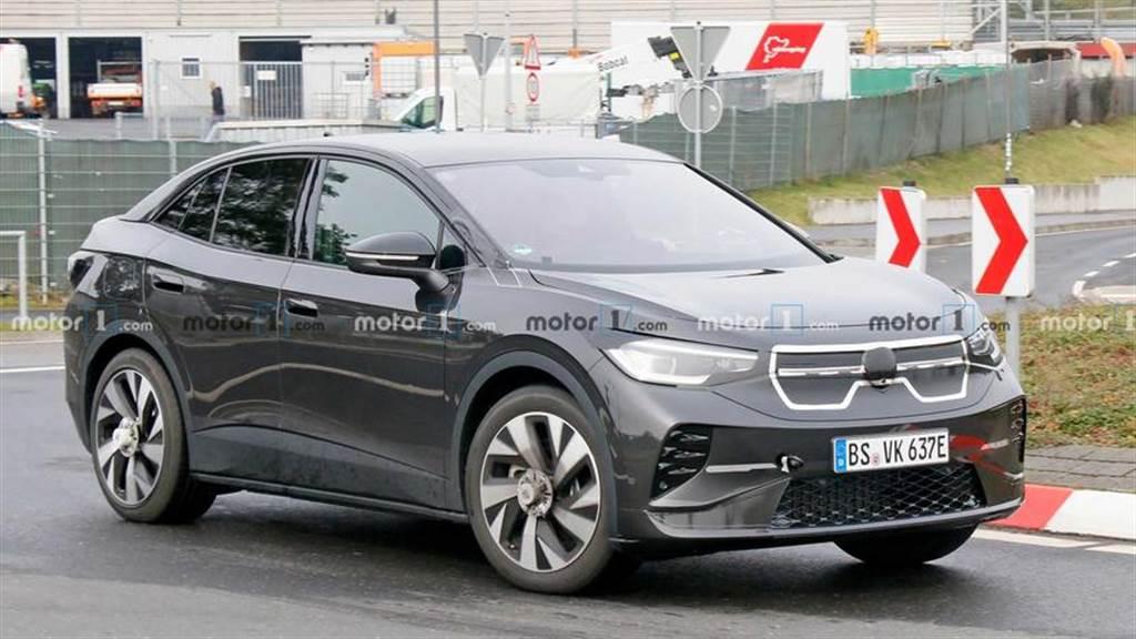 福斯 ID.4 GTX 高性能車型 2021 春季亮相:動力輸出強化、造型更動感