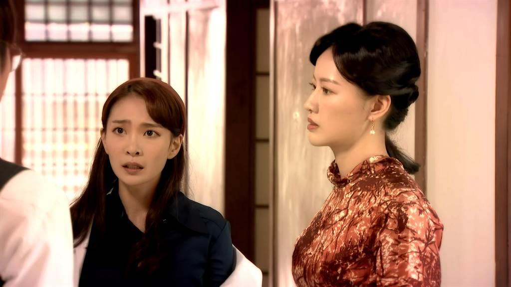 梁以辰、李亦捷劇中前世原來是對姊妹。(三立提供)