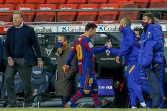 足球》前巴薩助教嘆 跟梅西同隊壓力很大