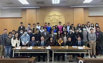 國民法官前進台北大學 模擬審鄰居爭吵持刀刺人案