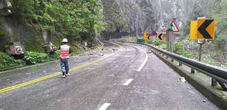 施作防落石棚工程 中橫舊道新長春橋段即起封閉至31日