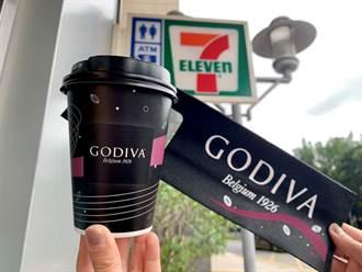 GODIVA熱巧克力小七回歸  限量50萬杯