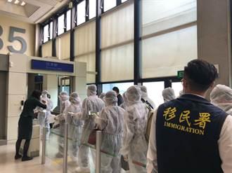 移民署動用609人 遣送342名越籍受收容人返國