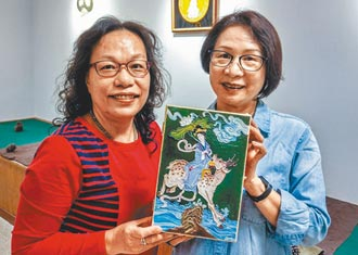 鳳山社大漆線雕 傳統中有新意