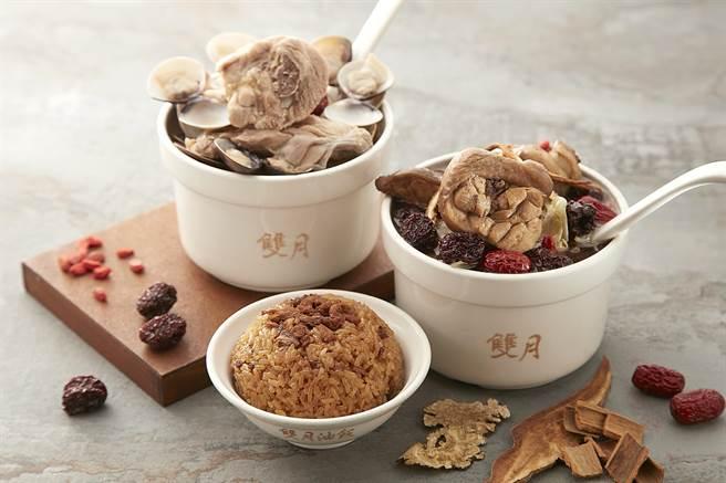 欲尝「双月食品社」的招牌鸡汤,不用人挤人排队,台北喜来登大饭店「必比登巡礼」住房专案代客买回来。(图/台北喜来登大饭店)