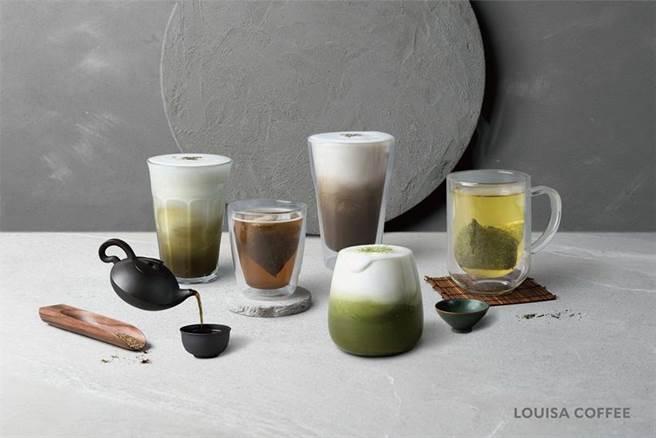 (平價精品咖啡龍頭路易莎,因京都宇治茶品熱賣,自12月14日起至2021年1月4日 祭出歲末年終暖心超級優惠。圖/路易莎提供)