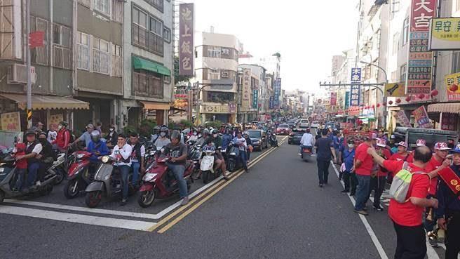 台南市區13日有廟會活動,過程中燃放大量鞭炮,引發民怨。(本報資料照片)