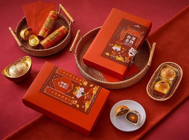 香格里拉台南遠東飯店因應春節到來,推出多款年菜外帶、年節禮盒。(香格里拉台南遠東飯店提供/李宜杰台南傳真)