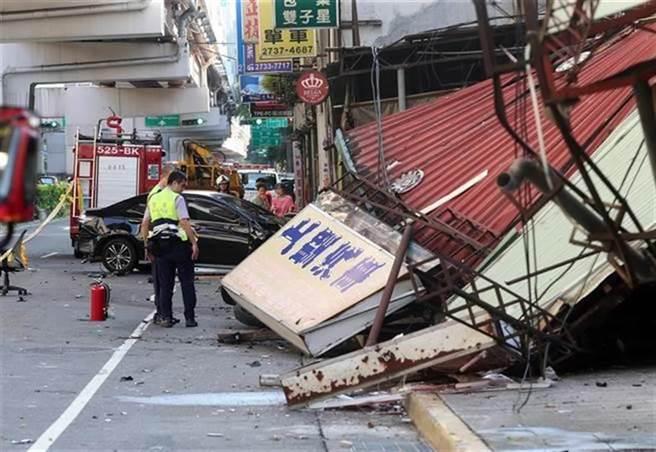 Uber司機郭俊邑2018年酒後駕車連撞3機車、路邊房屋,檢方起訴形容成「恐怖攻擊」。(本報資料照片)