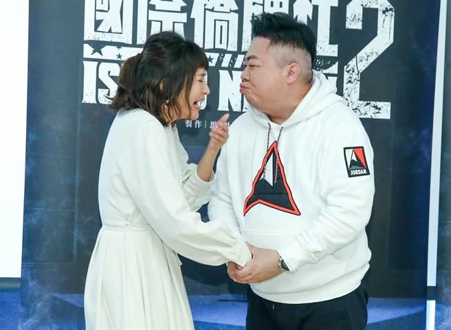 董至成和吳怡霈將有吻戲。(粘耿豪攝)