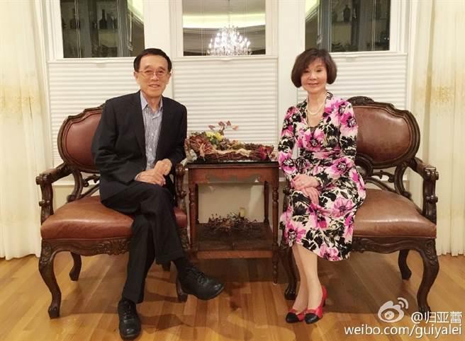 歸亞蕾與丈夫張夢奎結婚55年,相知相惜半輩子,在演藝圈很可貴。(圖/中時資料照)