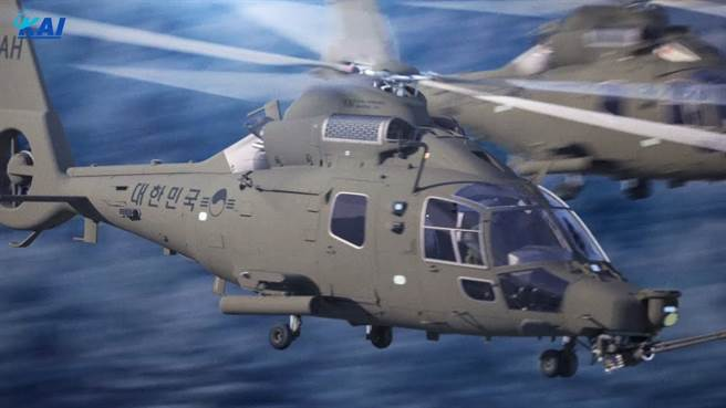 韓國輕型武裝直升機LAH 。(圖/KAI)