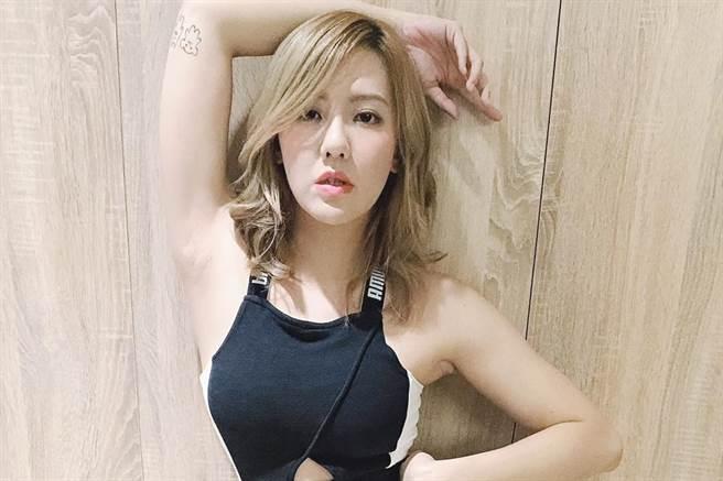 劉雨柔熱愛運動,喜愛格鬥的她更考取教練證照 (圖/ 劉雨柔臉書)