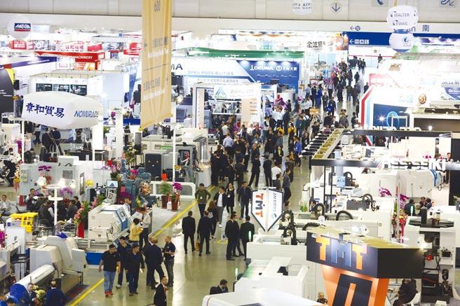 2019年台北國際工具機展展出盛況。圖/機械公會提供