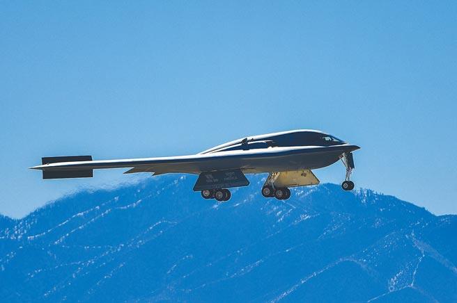 美國空軍B-2隱形轟炸機。(取自諾斯洛普公司官網)