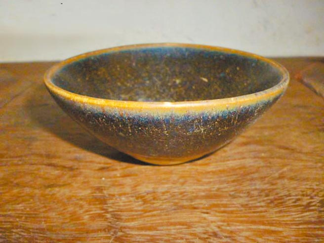 宋代吉州窯酒碗,現藏四川省博物館。(時報出版提供)