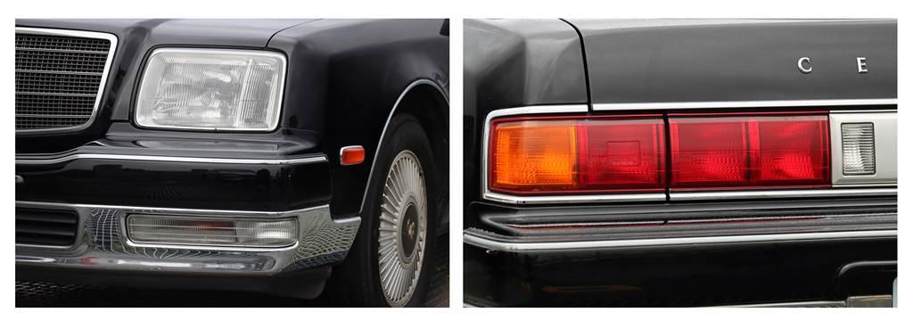 雖然出廠年份為 2007 年,但是從大燈、霧燈以及尾燈的地方可以發現,其實外銷版本的還是以「前期型」的樣貌為主。