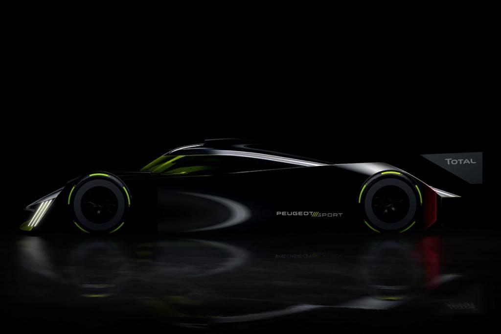 法式科技暴力 Peugeot 將以油電V6出戰2022 利曼賽事