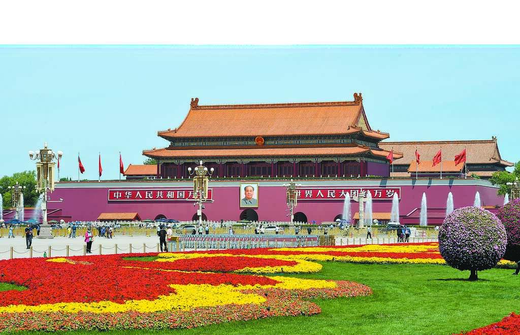 中共政壇「東南軍」新梯隊嶄露頭角。圖為5月20日,從北京天安門廣場眺望天安門城樓。(中新社)