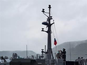 高效能艦艇後續艦首艦 總統命名為「塔江艦」
