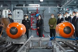 總統海軍新船開箱文 自動布雷系統首度曝光