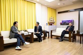 韓媒專訪林右昌 肯定他是「台灣政壇屆黑馬」