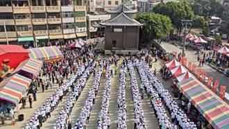 潮州福安宮將平移40米 1600人參與遷移「拉福氣」