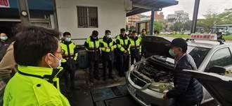 執勤安全上路 海山警辦理「汽車安全駕駛訓練」
