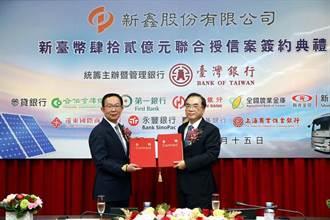裕融新鑫與台銀等銀行團 簽訂42億元聯貸案