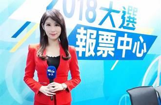 中天美女主播劉盈秀又跳舞了 一轉身超兇身材全洩