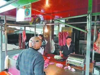 進萊倒數 豬肉攤商憂客戶流失