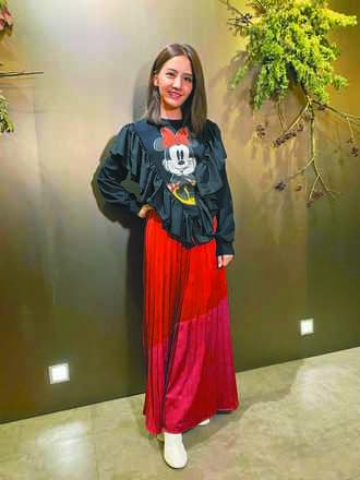 李宣榕米妮穿上身想當米老鼠女友